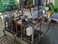 Стенд с мотори за изпитание на ходравлични помпи