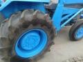 Трактор Massey Ferguson с челен товарач