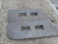 Лопатки чугунени за бетонов възел – бетоносмесител