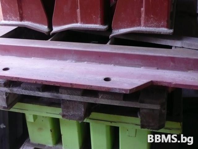 Матрици за преса за бетонови изделия