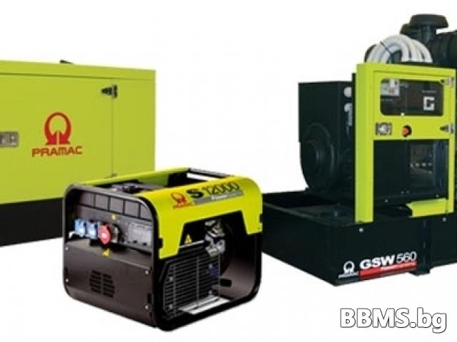 Трифазни генератори под наем