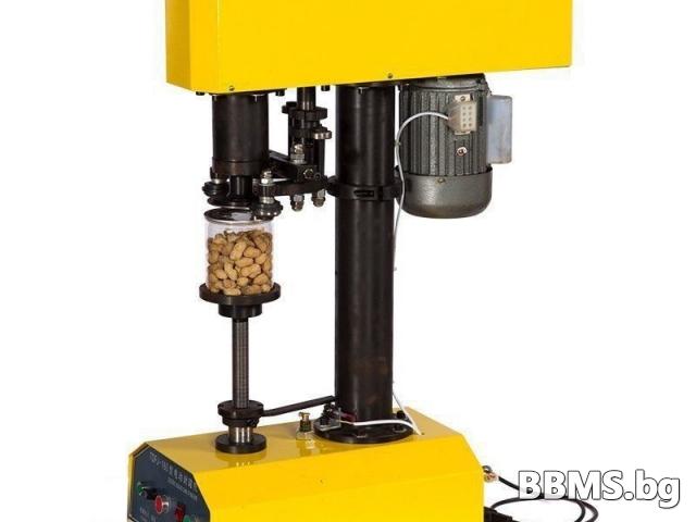 Полуавтоматична затваряща машина за консерви