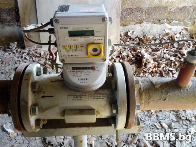 Газов разходомер с обемен коректор ELSTER. Gas meter with volume corrector ELSTER.