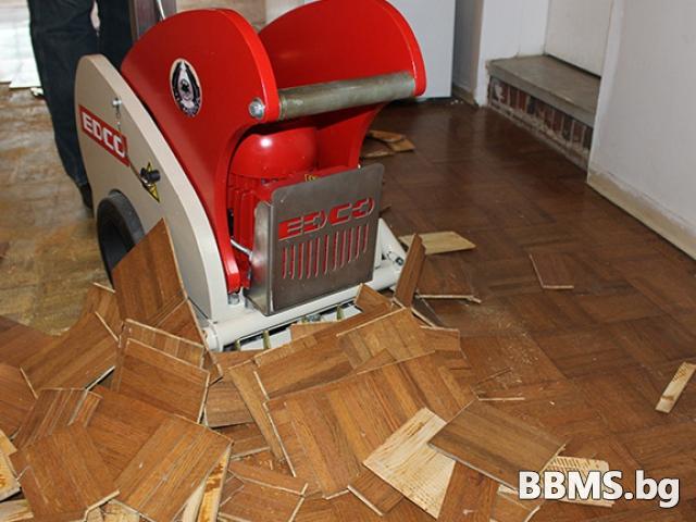 Машина за премахване на подови настилки под наем