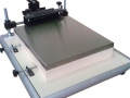 Ръчна машина за ситопечат с вакуум плот.