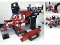 Ръчна машина ситопечат на овали и елипси