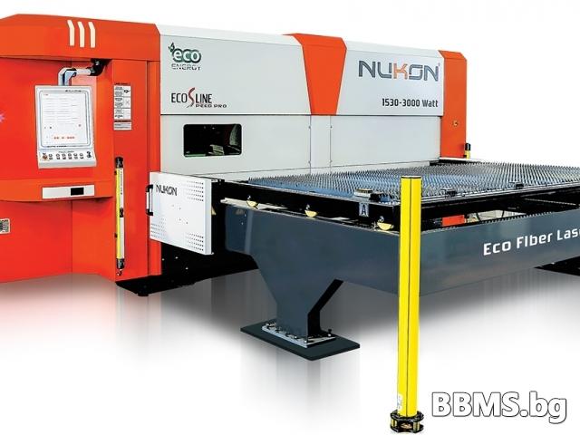 Фибер Лазер за металообработка от Нукон България