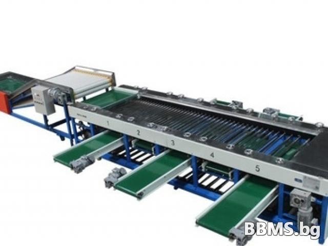 Машини за преработка, сортиране и пакетиране на зеленчуци, плодове
