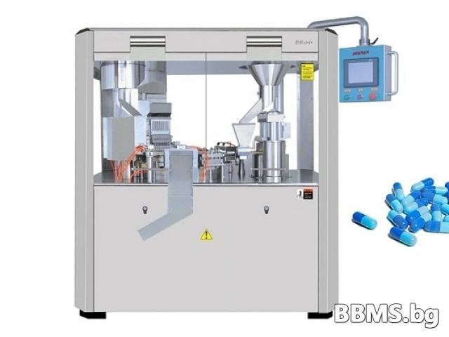 Автоматична машина за пълнене на капсули.Model:CFM2200,CFM3200,CFM6600