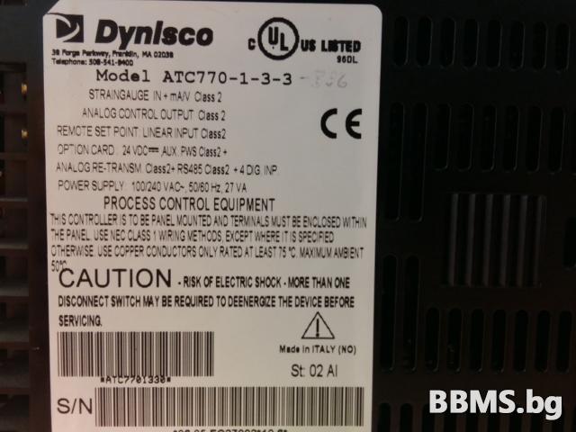 Контролер Dynisco ATC770-1-3-3