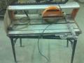 Машина за рязане на теракот и клинкер с водно охлаждане