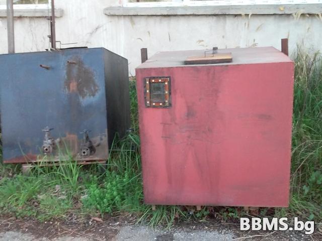 Резервоари от черна ламарина за дизел/газьол