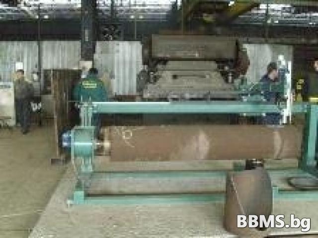 Машина за рязане и разкрояване на ТРЪБИ със CNC управление