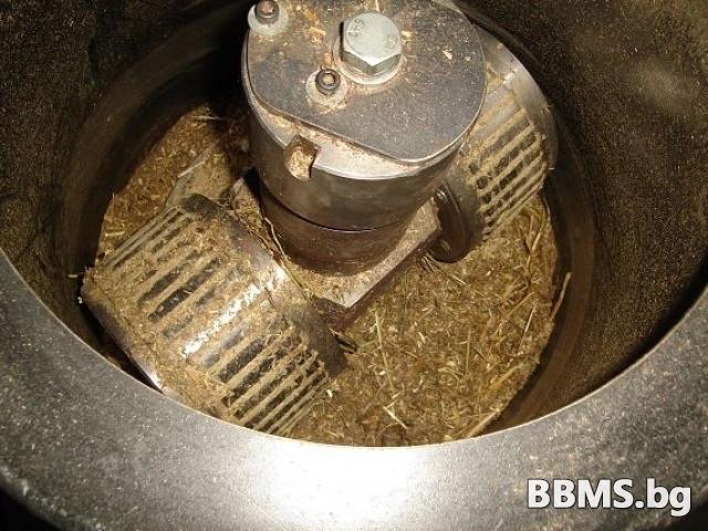 МАШИНА за производство на ПЕЛЕТИ – 1000 кг/ч готова продукция