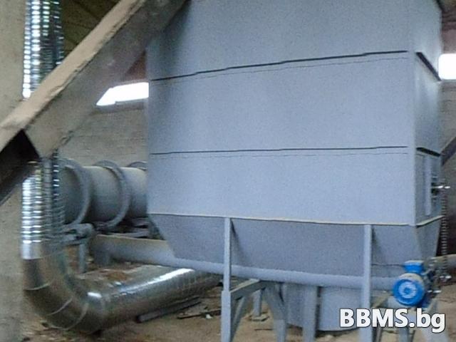 СУШИЛНЯ – 2000 кг/ч изсушен материал