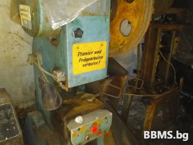 Шепинг, металоогъвателна машина, струг. Галванични вани, електрожени