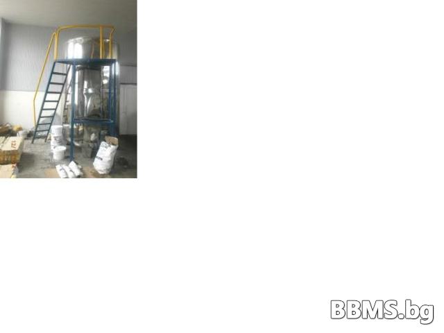 Цистерна за глицерин от машини за производство на олио и биодизел