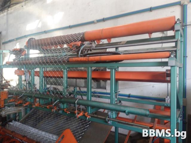 Автоматична машина за плетене на оградна мрежа