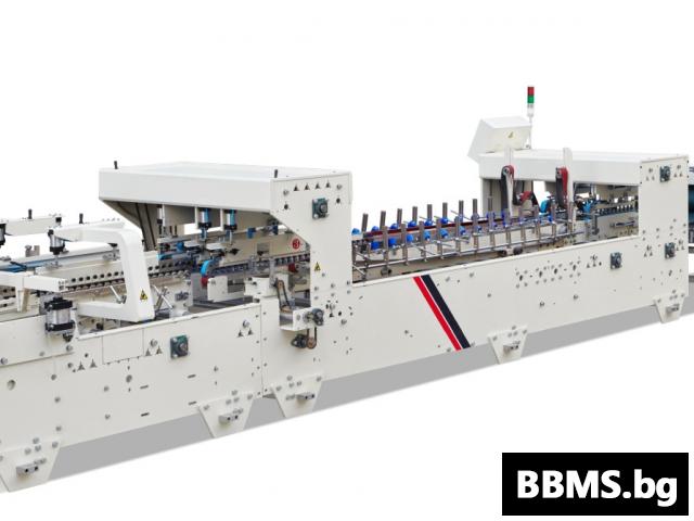 Автоматична лепачно-сгъвачна машина SМТ-1650B2A