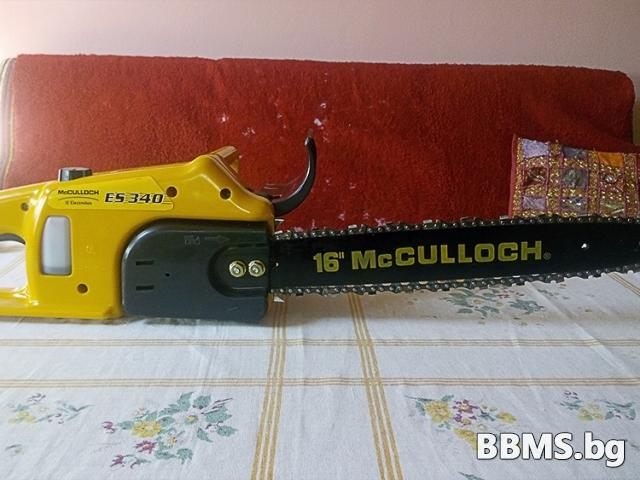 Електрически верижен трион McCULLOCH ES 340