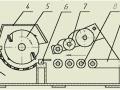 Дробилка за капаци, изрезки, от барабанен тип, 55 кВт