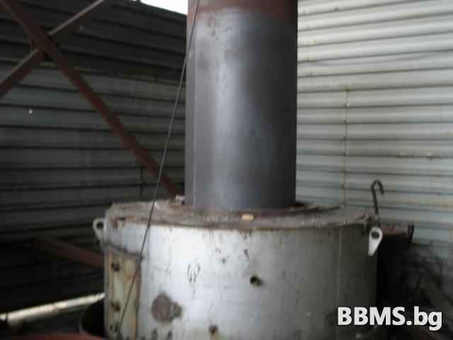 Пещ шахтова 90kw за отгряване на телове и детайли