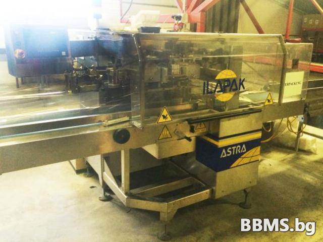 Употребявана тръбообразна хоризонтална опаковъчна машина Ilapack Astra PC