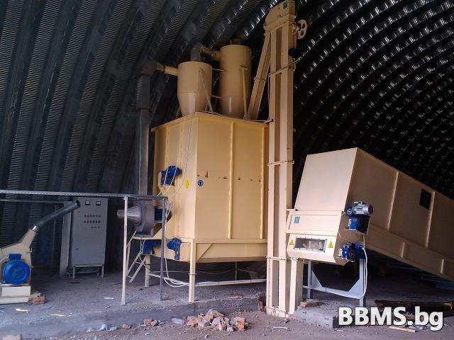 Бункер-дозатор/бункер с подвижно дъно
