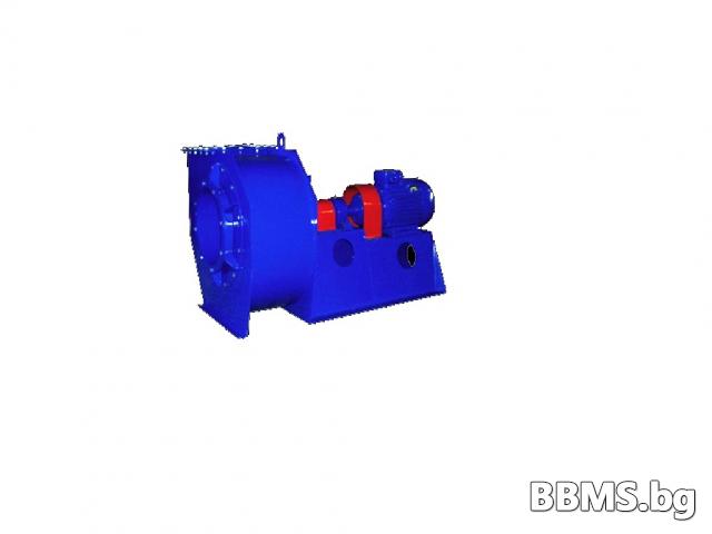 Вентилатор центробежен за ниско и средно налягане за висока температура общопромишлен