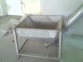Продавам шнек с бункер за захранване на сушилни, пелет преси, дозатори и др.машини