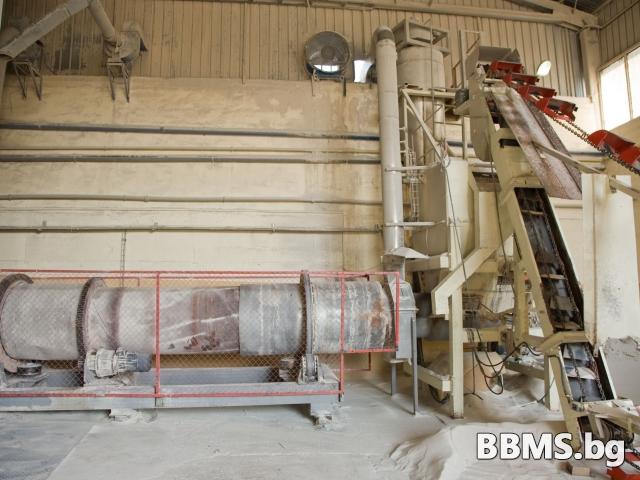 Индустриална сушилня за пясък и инертни материали