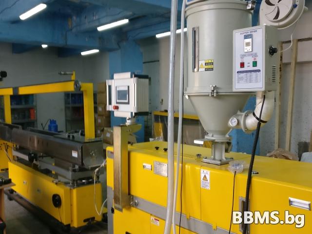 Екструдер линия за изтегляне на нишка/консуматив за 3D принтери по технология FDM/FFF