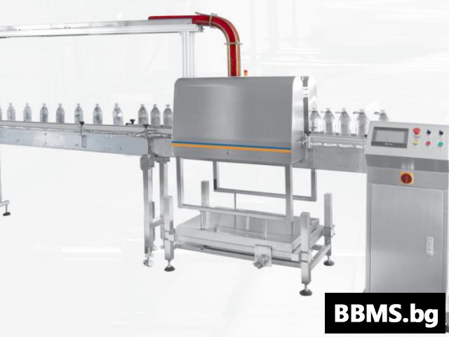 Автоматична машина за поставяне на дръжки на РЕТ бутилки